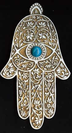"""The Hamsa amulet is actually called """"Kaf Al Abbas"""" (hand of Abbas) or in some cases """"Kaf Khamsa"""" (hand of the five)."""