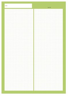 Pretty Notes, Good Notes, Printable Graph Paper, Page Borders Design, Memo Notepad, Grid Notebook, Study Planner, Notes Template, Bullet Journal Ideas Pages