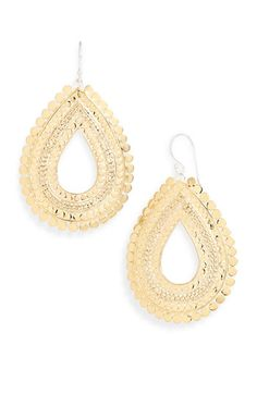 Anna Beck 'Flores' Large Chain Open Drop Earrings from Nordstrom...LOVE