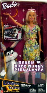 Looney Tunes Barbie Loves Bugs Bunny Doll * Read more reviews of the product by visiting the link on the image. Barbie Toys, Bugs Bunny, Barbie Collection, Love Bugs, Looney Tunes, Dolls, Link, Image, Baby Dolls