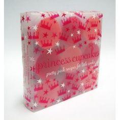 Princess Cupcakes Molds and Recipes $19.99