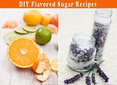 Make Your Own Flavored Sugars With Citrus Peels, Lavender & Vanilla Beans Birthday Cake Delivery, Infused Sugar, Sweets Recipes, Cake Recipes, Flavored Oils, Lemon Sugar, No Sugar Foods, Cooking Ingredients, No Bake Cookies