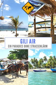 Wenn du ein Paradies ganz ohne nervigen Straßenlärm suchst, bist du auf Gili Air genau richtig! https://www.unaufschiebbar.de/reiseziele/asien/indonesien/gili-air/ #Giliinseln #Giliair #Gilis #Giliislands #Lombok #Reisen #Reisetipps