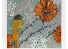 Color palette for living room??? - Little Wren 1   Series   Art   Z Gallerie