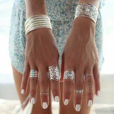 I'd wear it all!