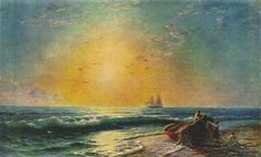 The Sunrise - Ivan Aivazovsky - Completion Date: 1874