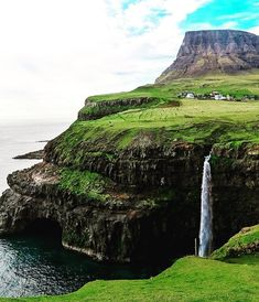 More people are flocking to the Faroe Islands — and now is the time to join them… – All Pictures All Pictures, Travel Pictures, Hand Luggage, Faroe Islands, Travel And Leisure, Places To Go, Waterfall, Travel Photography, Explore