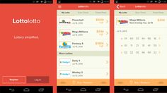 Store and check your lottery tickets in any state with this great app....
