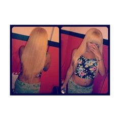 C-l-a-s-s-y-t-h-o-u-g-h-t-s ❤ liked on Polyvore featuring hair, girls, hairstyles, luka and my anon