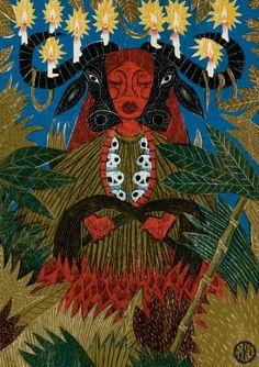 Oya She-Buffalo by André Hora