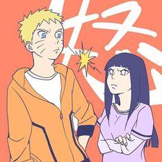 Trouble in paradise. Naruto Comic, Naruto And Hinata, Hinata Hyuga, Naruto Shippuden Anime, Anime Naruto, Boruto, Naruhina, Uzumaki Family, Familia Uzumaki