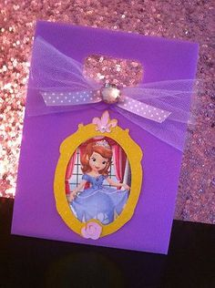 8 Sofia The First Handmade Birthday Favor Tote Gift Bags So Enchanting