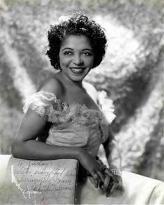 """""""Trumpeter, singer and dancer Valaida Snow was a pioneering woman in jazz and among the first to reach an international audience. Like fellow boasters Jelly Roll Morton and Sidney Bechet, her tall tales sometimes obscured the substantial accomplishments of her career, which took her from vaudeville to musical theater and cabaret, and stylistically, from early jazz through Swing to rhythm 'n' blues."""