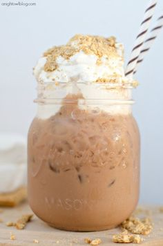 S'mores Iced Coffee - YUM!!!