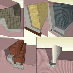 Hangbefestigung und Böschungsschutz: Einen Hang befestigen mit Böschungssteinen, Hangflorsteinen, Palisaden und Pflanzringen.