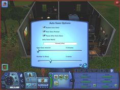 SUPER TIP! Auto Save your game and never go mad again when the game crashes after three hours of playing!   Download at Mod The Sims. Thanks for sharing Jessi Overton (http://pinterest.com/lboosmommy/)