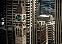 Clock Tower Old City Hall, Toronto