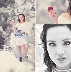 fairy tale photo shoot: Snow White