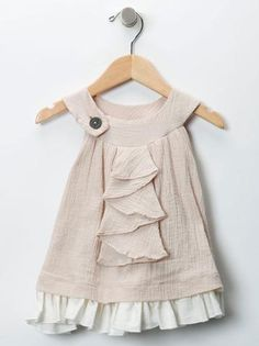ruffled dress | little girl wear