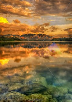 stock photo of khao sok park mountain and lake in suratthani thailand