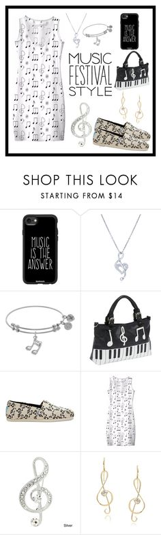Untitled #109 by lena-soya on Polyvore featuring J&C Creations, Music Notes, TOMS, Ashley M, Journee Collection, BERRICLE and Casetify