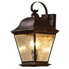allen roth aztec 18 1 2 in olde auburn outdoor wall light. Black Bedroom Furniture Sets. Home Design Ideas