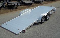 All-Aluminum Car Hauler | 2014 7x18 All Aluminum Tilt Car Hauler Car Trailer Aluma