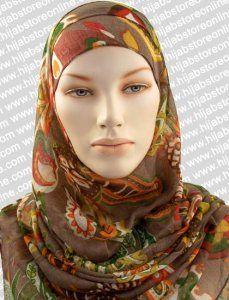 Hijab - Seychelles Fun - Mocha Maxi