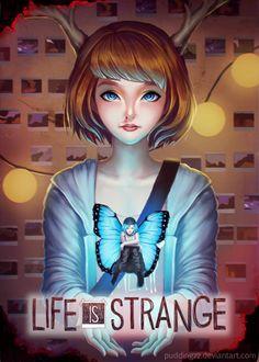 Life is Strange fanart, Jenny Kung on ArtStation at https://www.artstation.com/artwork/2LeXJ Max Chloe