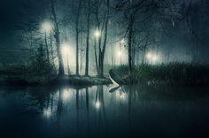 i n f i n i t y by Mikko Lagerstedt, via Behance - awesome fog+light photography