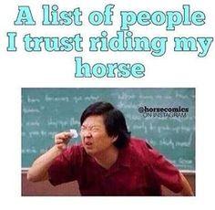 Tänään tai huomenna postausta kun min kaveri Henna ratsastaa Voitollan Mut tää kuva kyl pitää hyvin paikkaansa✋ #horsememe #horsememes #equestrianmemes #equestrianlife