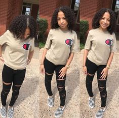 Online shopping for Girls' Back-to-School Essentials from a great selection at Clothing, Shoes & Jewelry Store. Baddie Outfits Casual, Swag Outfits For Girls, Cute Outfits For School, Teenage Girl Outfits, Chill Outfits, Cute Swag Outfits, Cute Comfy Outfits, Teenager Outfits, Dope Outfits
