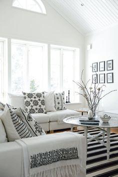 Black and White SwedishHome - lookslikewhite Blog -