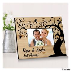 Winding Down Together Wooden Picture Frame