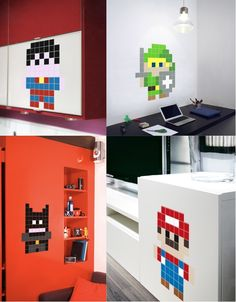 Mini Heroes Pixel Stickers » Design You Trust – Design Blog and Community