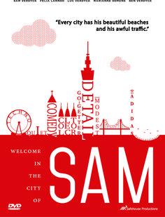 Dvd cover for my own movie: SAM #illustrator #school