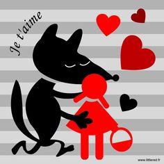 Red Riding Hood - Bientôt la Saint-Valentin / Valentine Day
