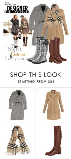 """Cold Weather"" by natyleygam ❤ liked on Polyvore featuring et vous, MaxMara, Burberry, SPM and Dirty Laundry"