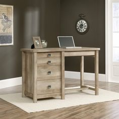 sauder edge water smartcenter secretary desk estate black hayneedle for den our florida place pinterest secretary desks seu2026