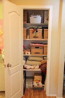 Kaminski's Creations: Organization: The Hall Closet