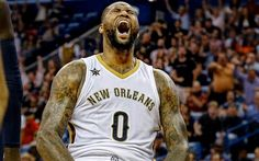 DeMarcus Cousins ended today's game against the Chicago Bulls with 44 points 24 rebounds and 10 assists. The New Orleans Pelicans came out on top in a double overtime thriller. Fantasy Basketball, Basketball Shoes For Men, Ohio State Basketball, Ten Games, Boogie Nights, New Orleans Pelicans, Nba News, Dfs, Chicago Bulls