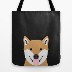 Indiana - Shiba Inu gift design for dog lovers and dog people Tote Bag by PetFriendly - $22.00