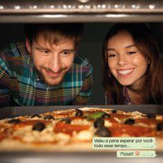 Um amor chamado Pizza ❤ Principalmente as pré-assadas da Rede Leve Pizza, você tem que experimentar *-* #FomeDemais #Pizza
