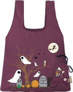 ChicoBag Halloween Trick or Treat Bags~Purple Ghost~Glow in the Dark Halloween Bags, Halloween Trick Or Treat, Halloween Design, Retro Housewife, Trick Or Treat Bags, Reusable Grocery Bags, Purple Bags, Craft Activities For Kids, Fun Crafts