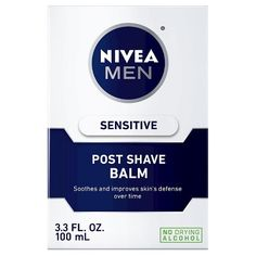 NIVEA for Men Sensitive Post Shave Balm - loved by many as an underground primer. Contains no silicone so none of that weird slippy feeling, plus it's a face care product so safe to use in that area!
