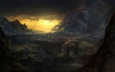 The kingdom of Temeria from The Witcher 2: Assassins of Kings Beautiful Landscapes That Prove That Video Games Are Art