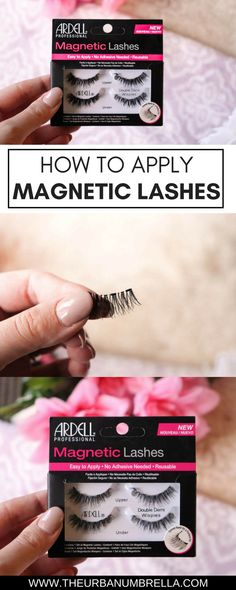 How to Apply Ardell Magnetic Lashes // #lashes #howto #howtovideos #eyelashes #magneticlashes #magneticeyelashes