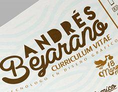 """Echa un vistazo a un nuevo trabajo en mi @Behance portfolio: """"CV Personal"""" http://be.net/gallery/33491025/CV-Personal"""