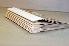 COSIDO de PASO DE TORO a las ESCARTIVANAS                 Normalmente las escartivanas se emplean cuando la fibra de papel del cuaderni...