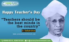 Teachers are the backbone of an education system. Let us salute this noble profession & the teachers who work tirelessly to nurture generations & shape future... #happteachersday #Teachersday #Jobs #Shriradhakrishnaday #happy